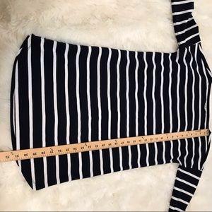 BB Dakota Dresses - BB Dakota Navy Blue & White Striped Dress Size XS